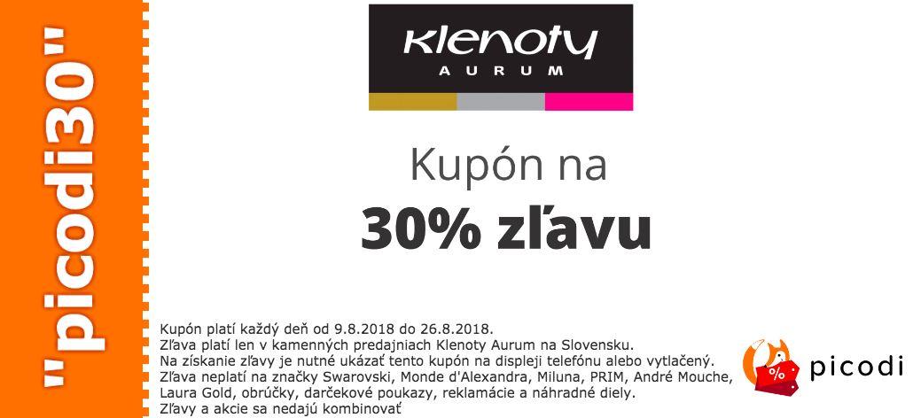 9f0192794 Zľavové kupóny - Šperky | ToSaVyplatí.sk